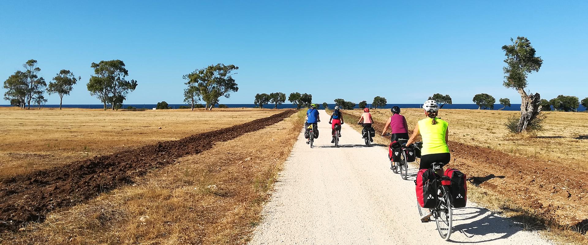 Tour guidati in bicicletta in Puglia