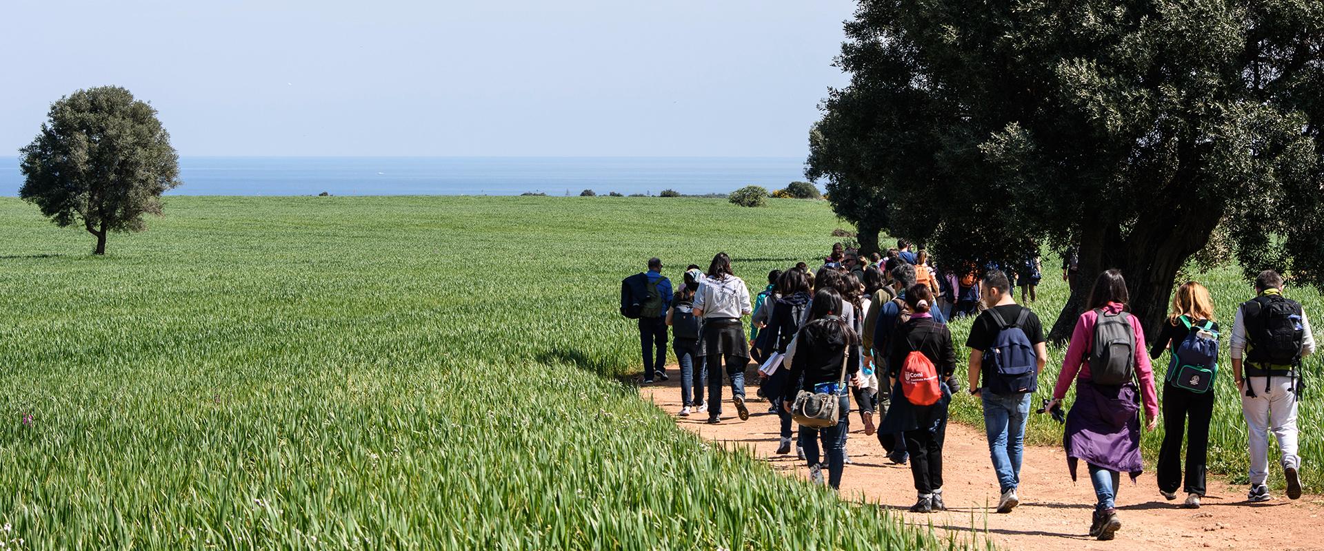 Escursioni guidate e trekking in Puglia