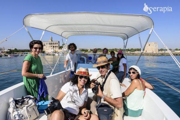 Polignano in barca