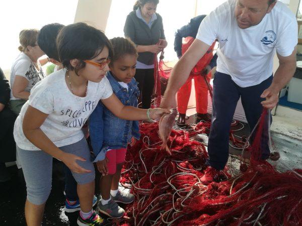 Attività didattica in barca