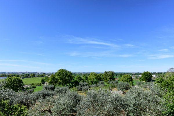Panorama della Valle d'Itria