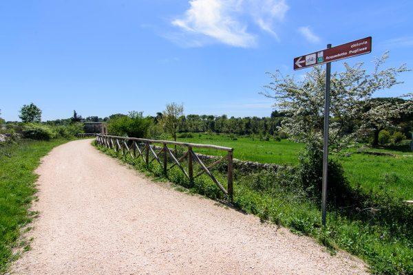 Ciclovia dell'Acquedotto Pugliese a Figazzano