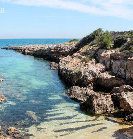 Caletta sul mare Adriatico (Monopoli)
