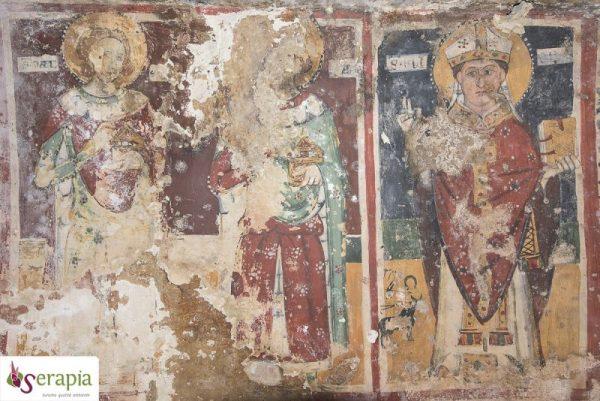Affreschi della Chiesa rupestre dei S.S. Andrea e Procopio (Monopoli)