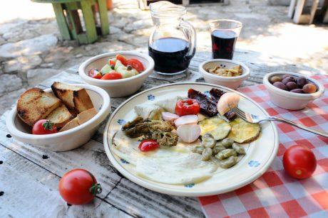 Degustazione sottoli Masseria a Difesa di Malta