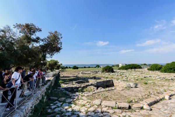 Il Parco Archeologico di Egnazia: gli scavi