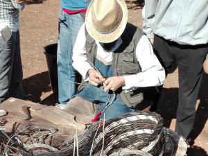 il laboratorio del cestaio
