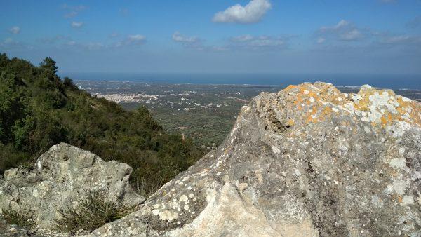 Monte Pizzuto - Vista panoramica.