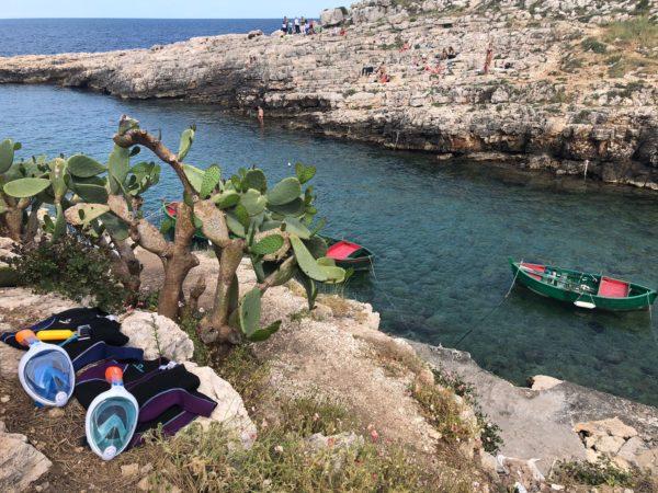 Snorkeling polignano monopoli