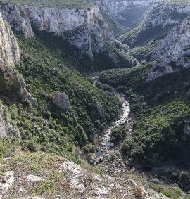 gravina di Laterza canyon nel Parco delle Gravine