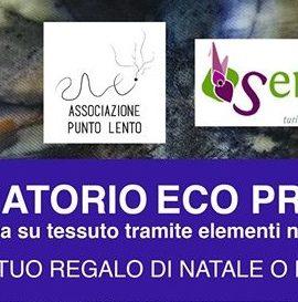 cover lab ecoprinting ass.ne Punto Lento