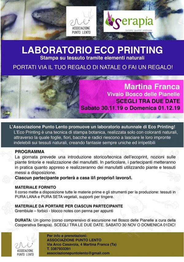 lab ecoprinting ass.ne Punto Lento