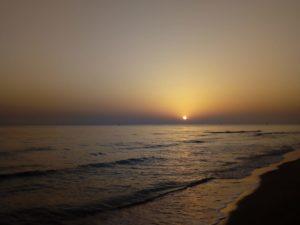 Alba nel PArco Dune Costiere