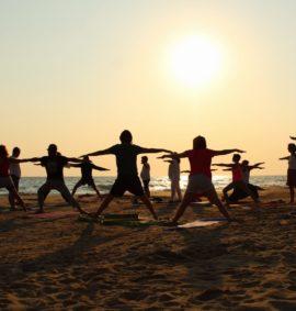 yoga nel Parco delle Dune Costiere